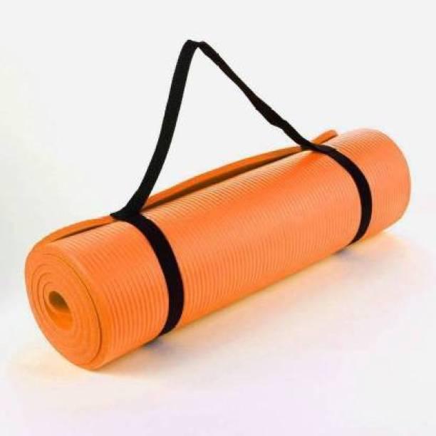 GROVERTEXOFAB ANTI-SKID ORANGE 4 MM WITH STRAP 4 mm Yoga Mat