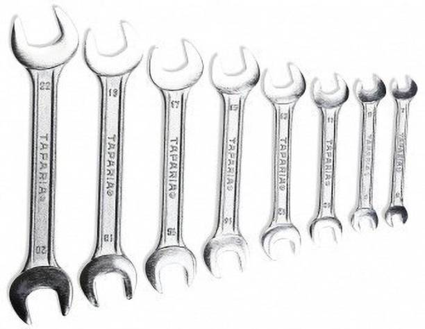TAPARIA DEP 08 Taparia Double Ended Open Spanner Set Double Sided Open End Wrench