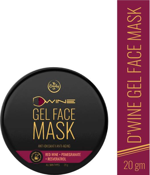 The Beauty Co. D'Wine Face Gel Mask