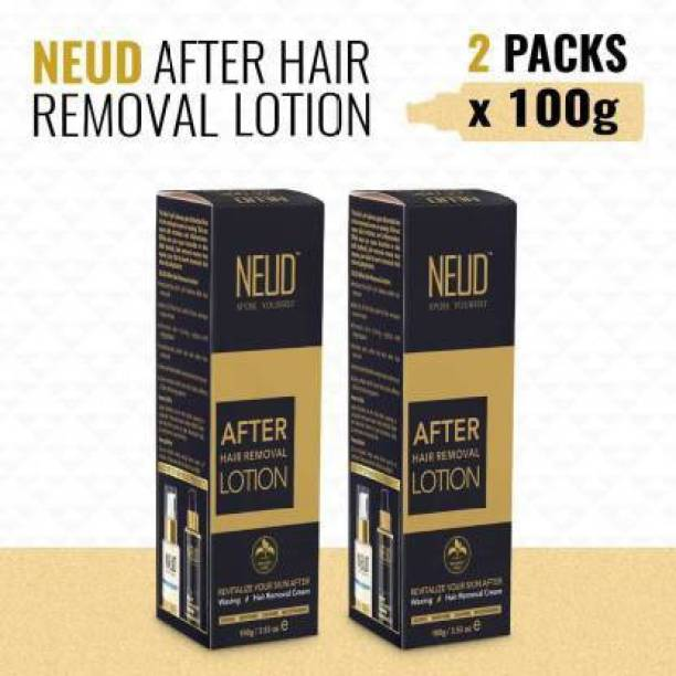 NEUD After Hair Removal Lotion for Skin Care in Men & Women( 100 x 2) Cream