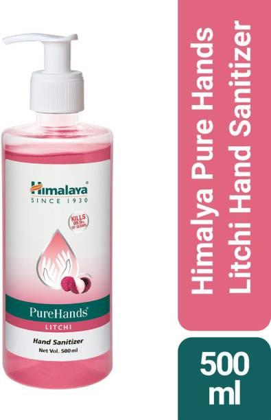 HIMALAYA PureHands Litchi Hand Sanitizer Pump Dispenser