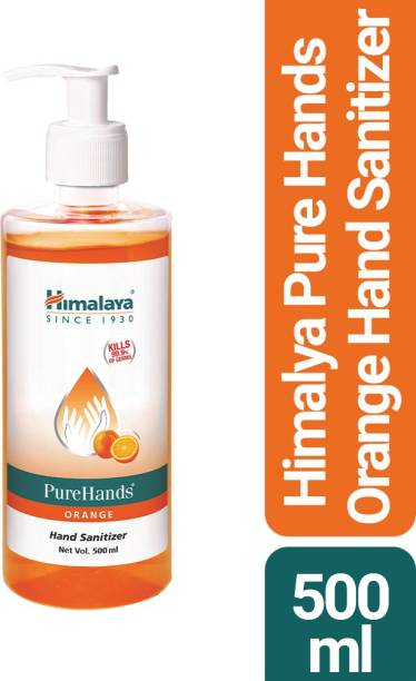 HIMALAYA PureHands - Orange Hand Sanitizer Bottle
