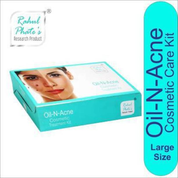 Rahul Phate's Research Product Rahul Phate Oil-N-Acne Cosmetic Treatment Kit for Men Large Size 150g