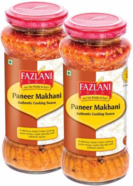 FAZLANI FOODS Ready to Eat Paneer Makhani Sauce,-Pack of 2, 285gm Each 570 g