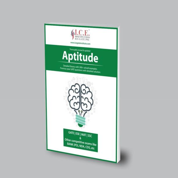 ICE GATE Quantitative Aptitude Book For GATE, ESE, MAT, SSC, BANK(PO), NDA,CDS And Other Competitive Exams