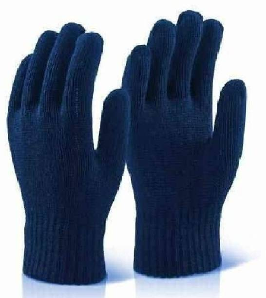 RBGIIT RBJS Women Eczema, Cloth Gloves for Dry Hands, Serving, Handling Film, Marching, Archival, Coin Collecting Safety Work Gloves Heavyweight for Men & Women Warehouse,Light industry,Carton handling, Construction L239 Kevlar  Safety Gloves