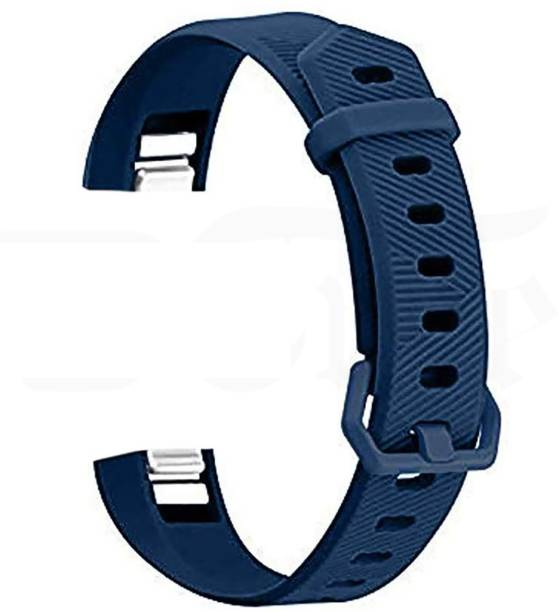 3Tree Soft Silicone Wristband Strap Compatible with Fitbit Alta /Alta HR/Ace – Midnight Blue (Small) Smart Watch Strap