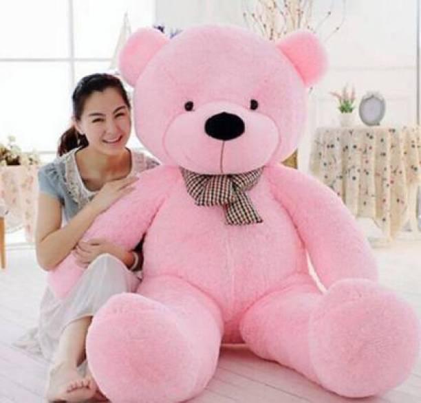 Sandiksha Teddy Bear Cuddly Stuffed Teddy Bear Toy Doll for Birthday Gift for girlfriend and any other Occasion 90 cm (3 feet teddy pink  - 90 cm