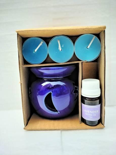 BHARTI TRADERS lavender Aroma Oil, Diffuser Set