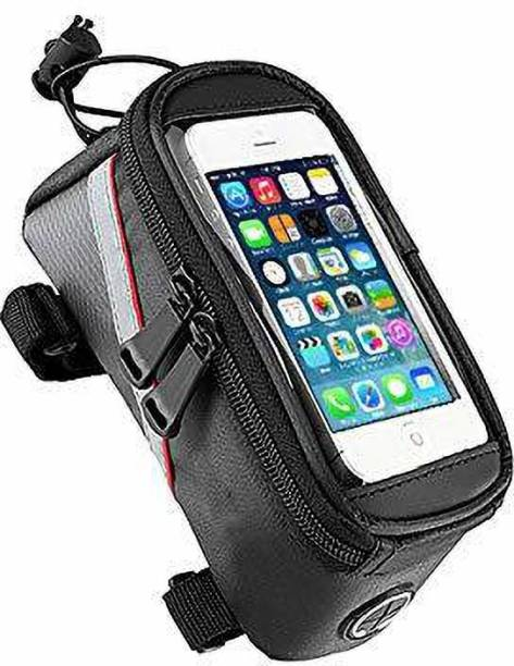 Leosportz Bicycle Mobile Phone Bag with Touch Sensitivity Bicycle Phone Holder