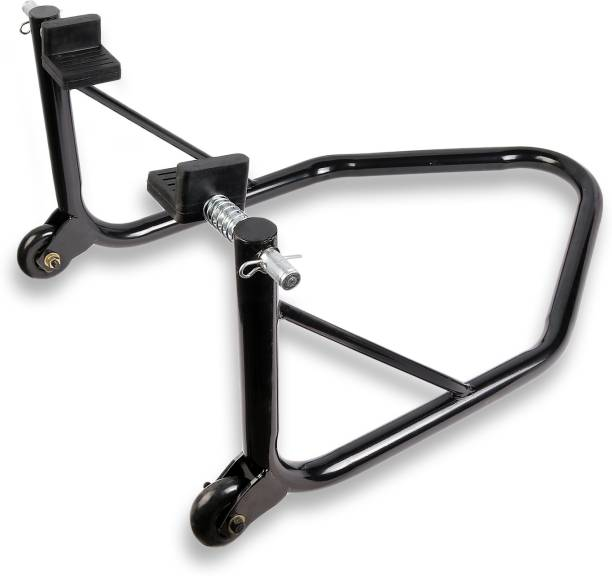 Grandbiker Rear Wheel Paddock Stand with Swing Arm Rest For All Bikes Bike Storage Stand