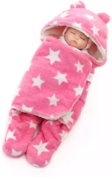 BRANDONN All Season Wearable Hooded Full Body Cover Baby Sleeping Bag For Babies Sleeping Bag