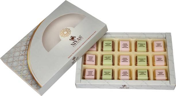 NIVAS CHOCOLATE ROYALE CHOCO CONFECTION GIFT BOX Crackles