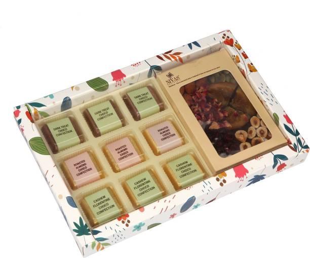 NIVAS CHOCOLATE EXQUISITE CHOCO CONFECTION GIFT BOX Bars
