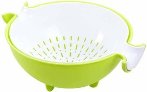 LOOZITO Multifunctional Washing Vegetables and Fruit Draining Basket Strainer, Fruit Basket for Dining Table,Drain Basket Colander