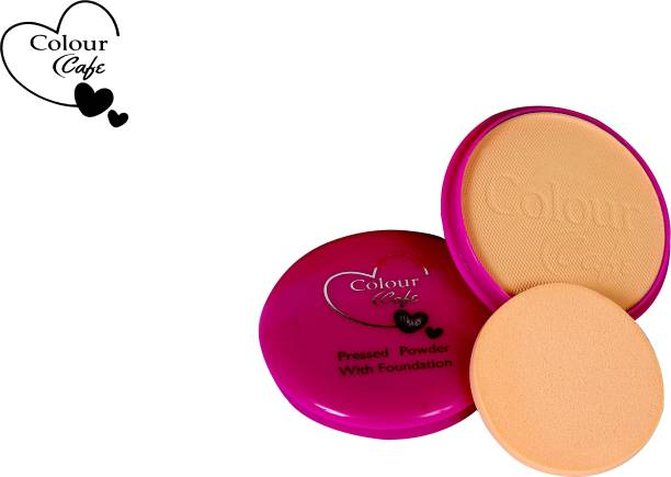 Colour Cafe Skin Care Compact Powder Compact