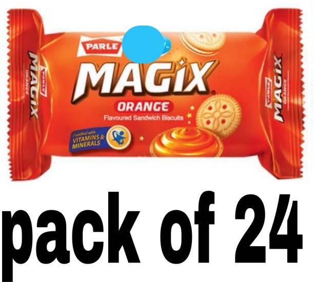 PARLE Magix orange cream biscuit