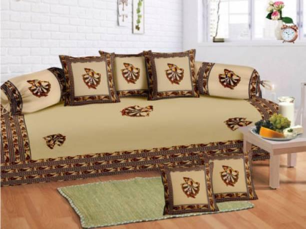 crafton Cotton Embroidered Diwan Set