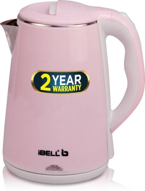 iBELL SEKR20 1500W Stainless Steel 2 Premium, with Auto Cut-Off Feature Electric Kettle