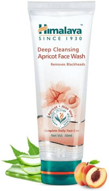 HIMALAYA Deep Cleansing Apricot  50ml (Pack Of 4) Face Wash