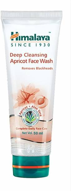 HIMALAYA Deep Cleansing Apricot Prevent Blackheads Face Wash