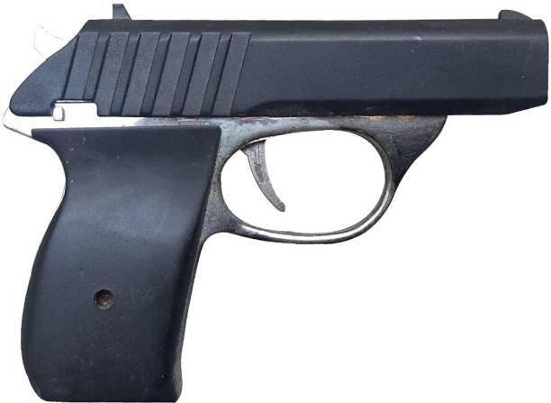 VK MART BLACK SILVER NEW LASER ELECTRIC GAG GUN SHAPED TOY FOR PRANK TOY Gag Toys Gag Toy