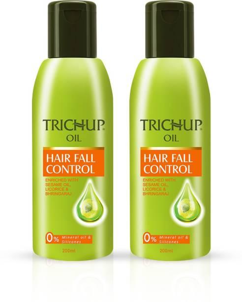 TRICHUP Hair Fall Control Herbal Hair Oil, 100ml (Pack of 2) Hair Oil