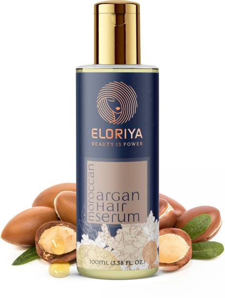 ELORIYA MOROCCAN ARGAN HAIR SERUM FOR STRONG AND FRIZZ-FREE HAIR, FOR MEN AND WOMEN, 100 ML