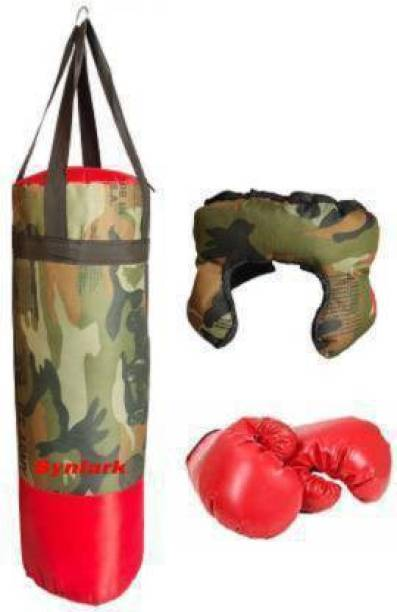 Aao je No.1 Supper Kids Toy Boxing Kit With 2 Gloves and 1 Head guard For boys and girls 3 To 10 Years Boxing Training Kit. Boxing Kit