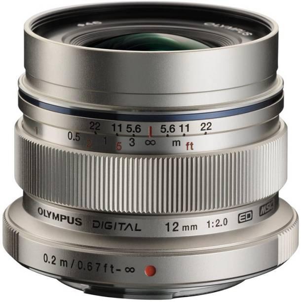 OLYMPUS M.Zuiko Digital 12mm f/2.0  (Silver, 315)  Lens