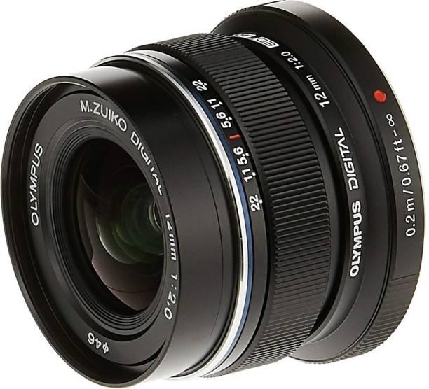 OLYMPUS M. Zuiko Digital ED 12mm f/2.0  for Micro 4/3 Cameras (Black)  Lens