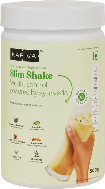 Kapiva Guava Slim Shake - India's first ever ayurvedic meal replacement powder Protein Shake
