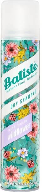 Batiste Dry Shampoo Fresh and Feminine Wild Flower