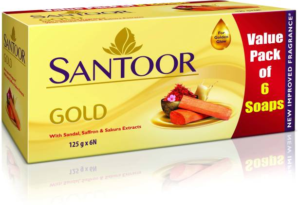 santoor Gold Soap