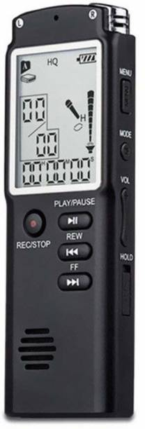 BabyTiger 8GB Voice Recorder USB Professional Dictaphone Digital Audio Voice Recorder with MP3 Player Black 8 GB Voice Recorder