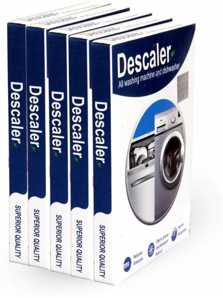 DESCALER Powder for All Washing Machines (Samsung, Whirlpool, Lg, IFB, Bosch, Haier, Godrej) (Washing Machines and Dishwashers) Stain Remover(Pack of 5 x 100gms), 500gms Detergent Powder 100 g