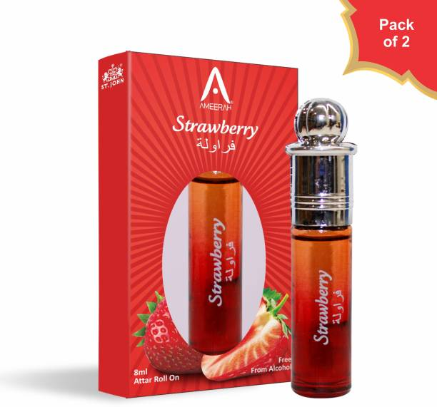 ST-JOHN | Attar Strawberry | 8ml | Pack Of 2 | Floral Attar