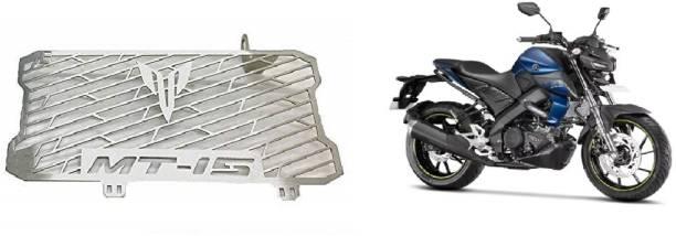 SELVIKE Radiator Grill For MT15 Dark Blue Bike Radiator Guard