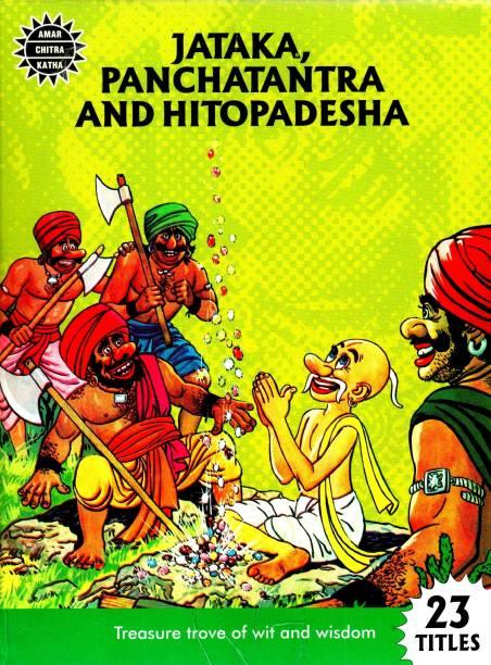Jataka, Panchatantra and Hitopadesha Collection Set