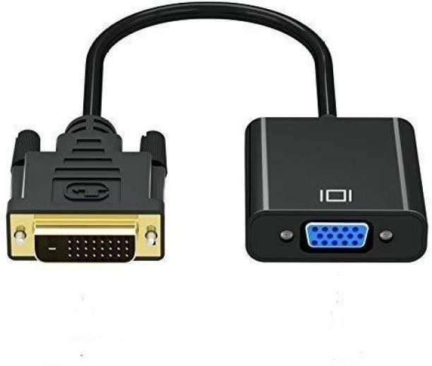 King Enterprise Active dvi to vga adapter 1 m DVI Cable