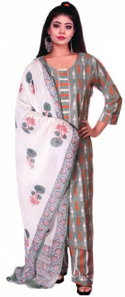 kshmya Women Kurta, Pyjama & Dupatta Set