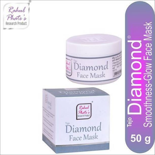 Rahul Phate's Research Product Rahul Phate Tejo Diamond Face Mask for Men 50g