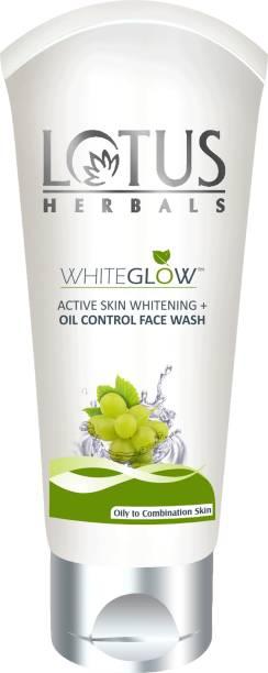 LOTUS HERBALS HERBALS WHITEGLOW ACTIVE SKIN WHITENING + OIL CONTROL FACEWASH Face Wash