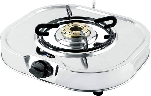 Kitchnx LPG Gas Top Stainless Steel Manual Gas Stove