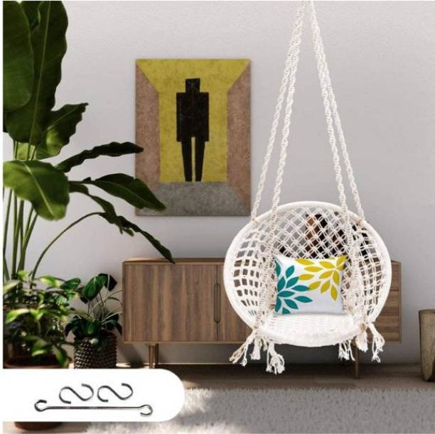 Patiofy Cotton Swing Chair for Home&Balcony Cotton Large Swing