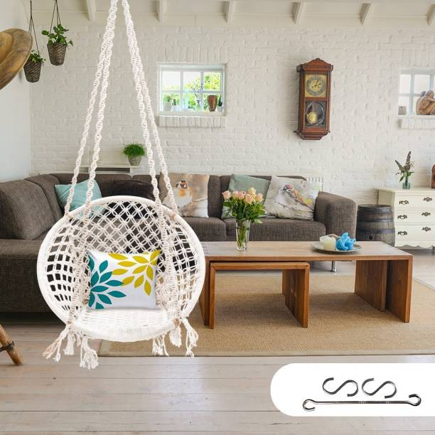 Patiofy Hammock Swing Chair with Hanging Kit Cotton Large Swing