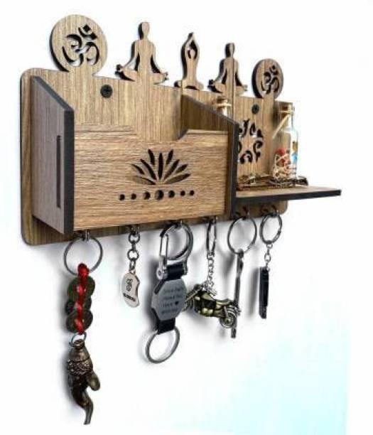 WRIFFY Yoga Wood Key Holder