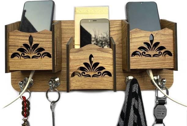 gs creation tan Wood Key Holder