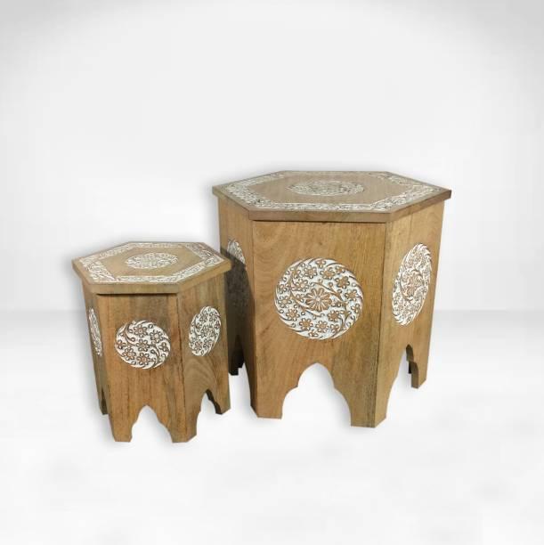 Miglani Solid Wood Side Table