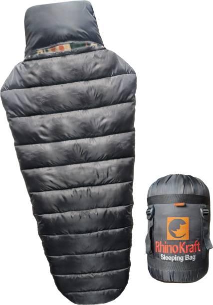 RHINOKraft Army Detachable Inner Fleece Liner ! XXL Size ! Winter Temp 0 to -10c of 2.5 Kg Sleeping Bag